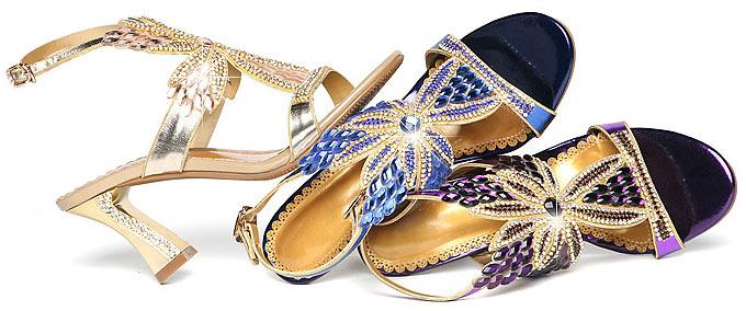 magnifique sandale de luxe pour soirée 2019