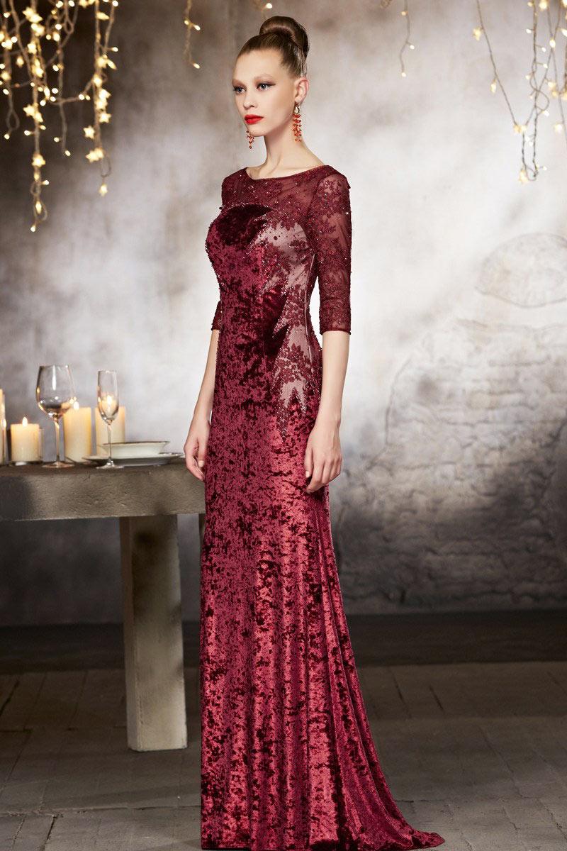 Modele robe de soiree haute couture