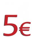 Aufpreis 5 EURO