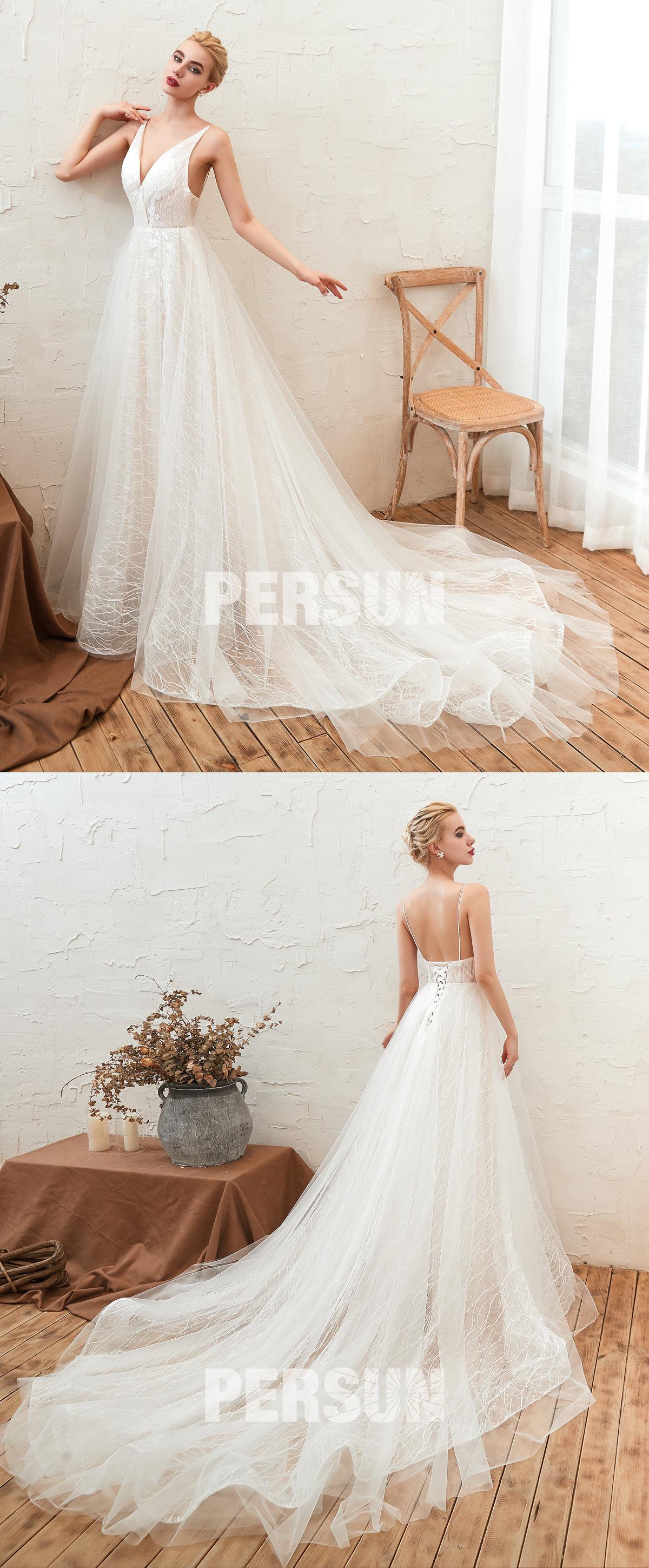 robe de mariée livraison rapide pas cher