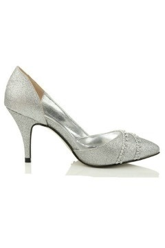 Chaussures mariage blanches bout pointu strass