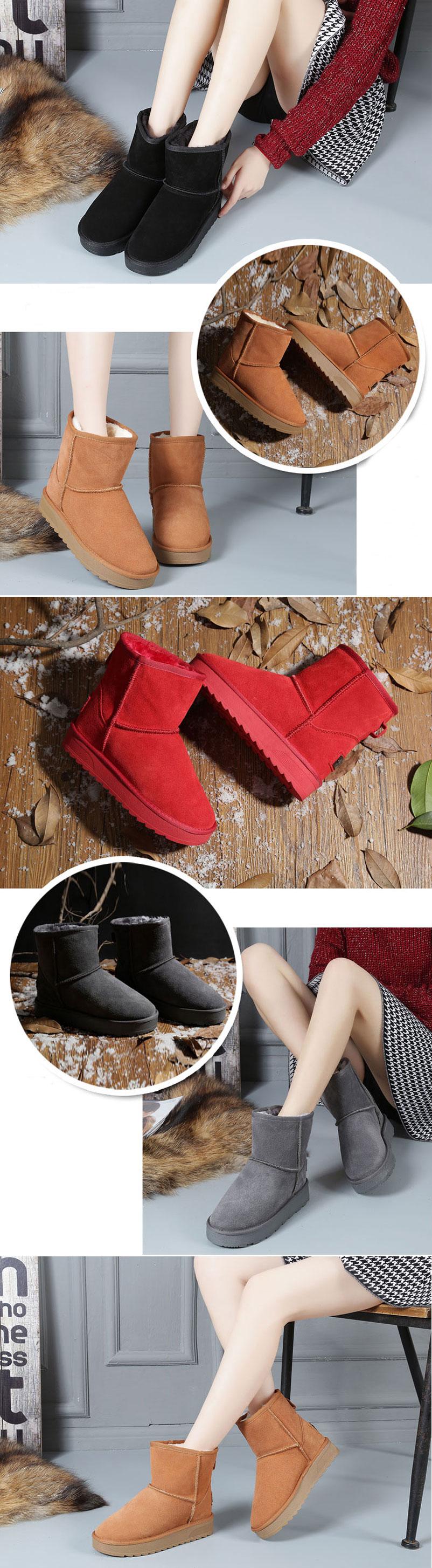 low boots femme chaude hiver pas cher