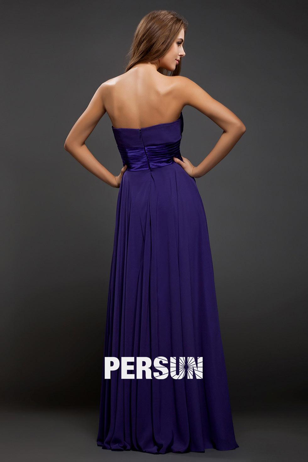 robe persun à dos ouvert