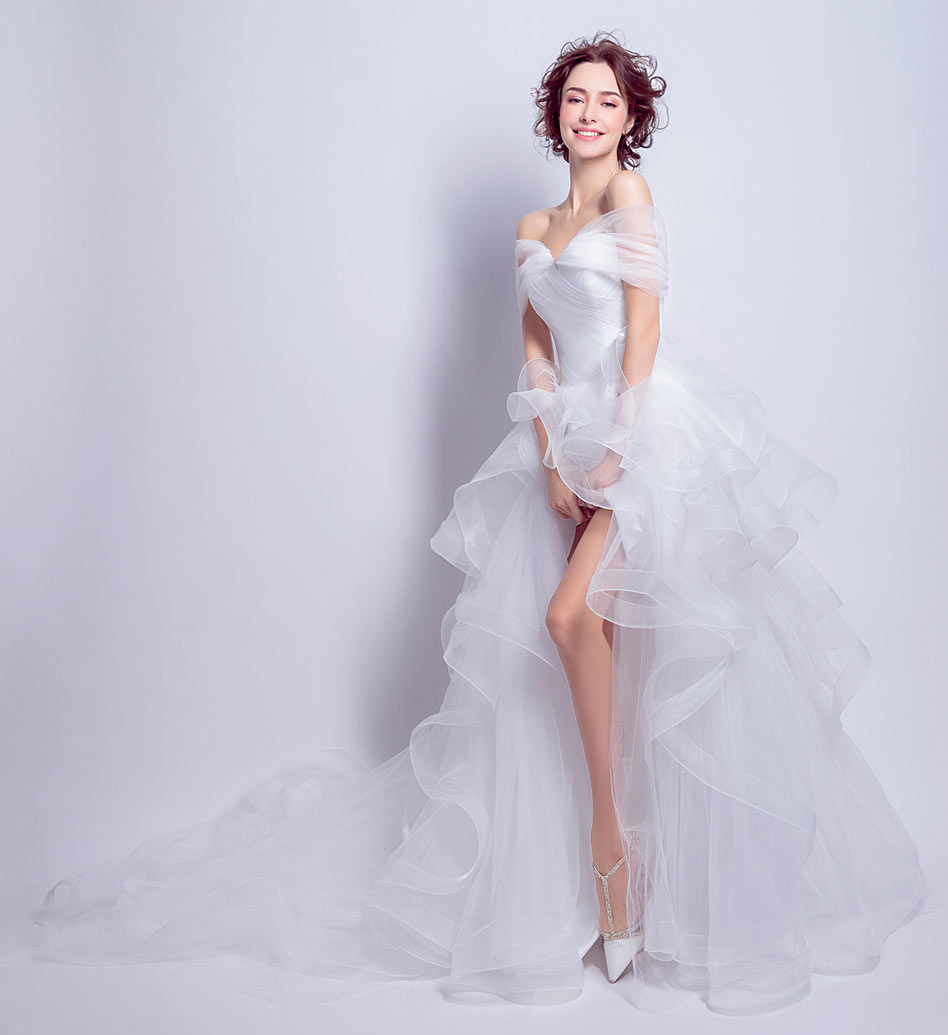 High To Low Wedding Dress