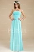Simple robe bustier droite pour mariage