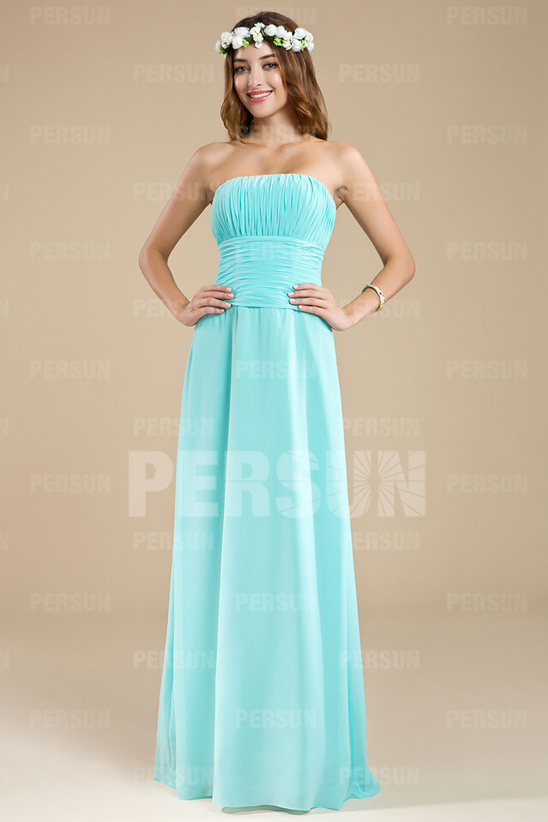 a1d6cce87aa67 Simple robe bustier droite pour mariage - Persun.fr
