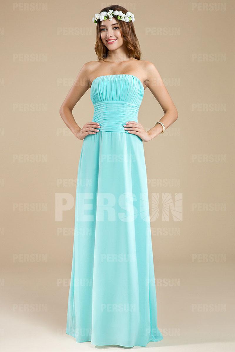 d2fd4a7fd99 Simple robe bustier droite pour mariage - Persun.fr
