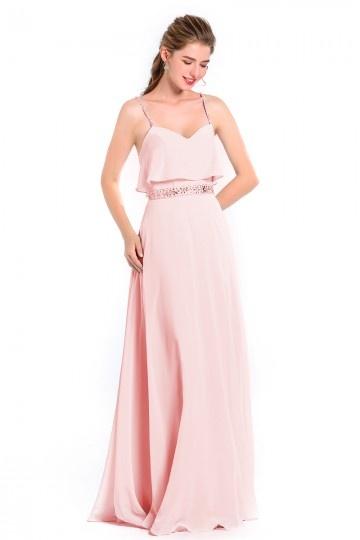 Vente Directe Robe Demoiselle D Honneur Rose Persun Fr