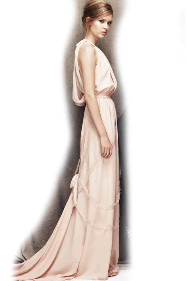 robe longue dos nu pour mariage été