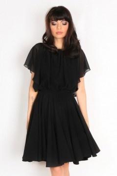 Robe noire chic soldes