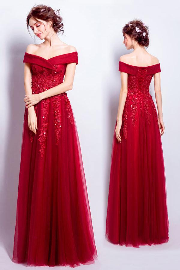 Robe de soiree 2018 rouge