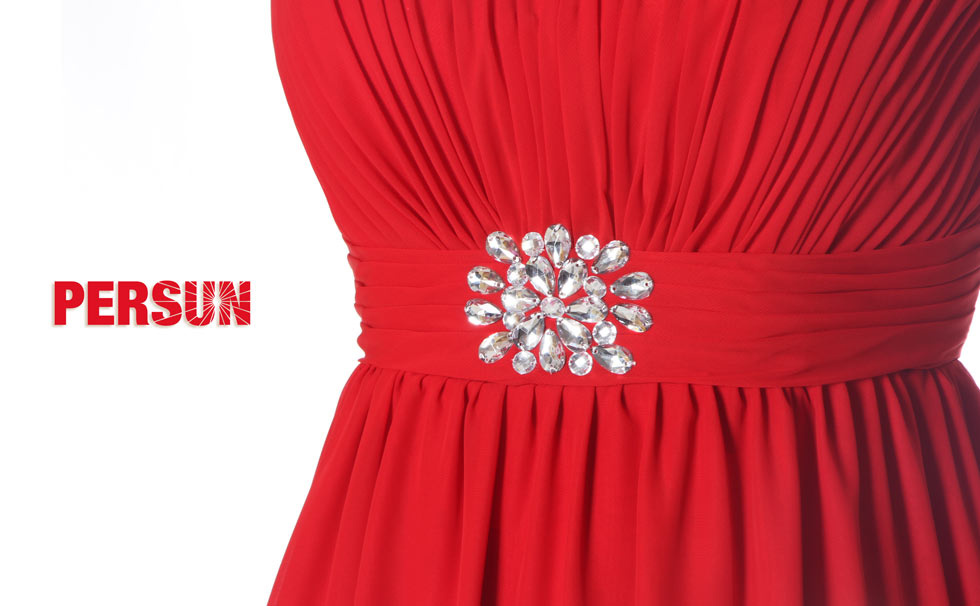 robe bustier rouge pas cher