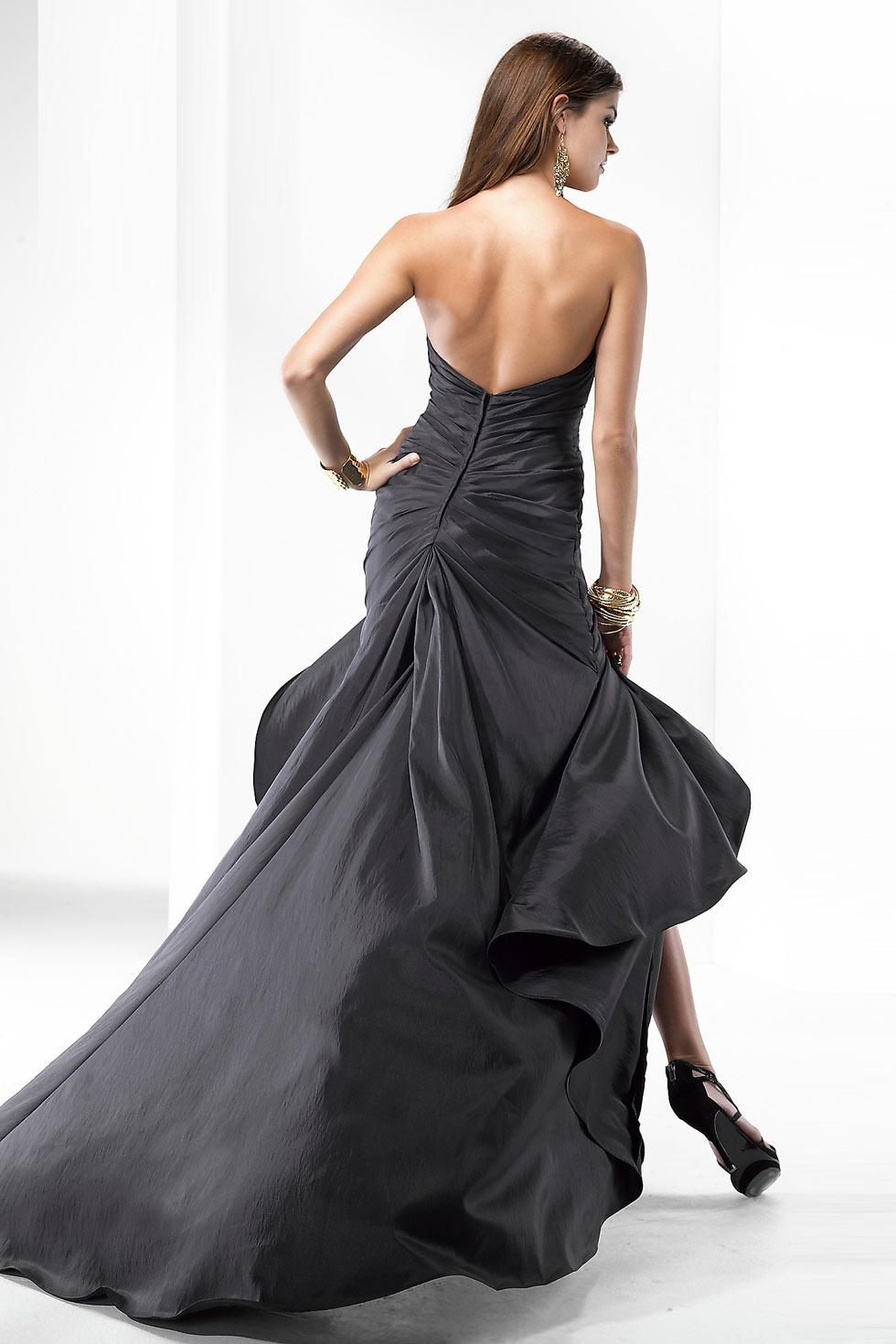 boutique robe ceremonie femme noire dos nu
