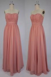 A-Linie Sweetheart Bodenlanges Abendkleider aus Chiffon