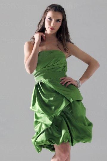 Festliches kleid grun