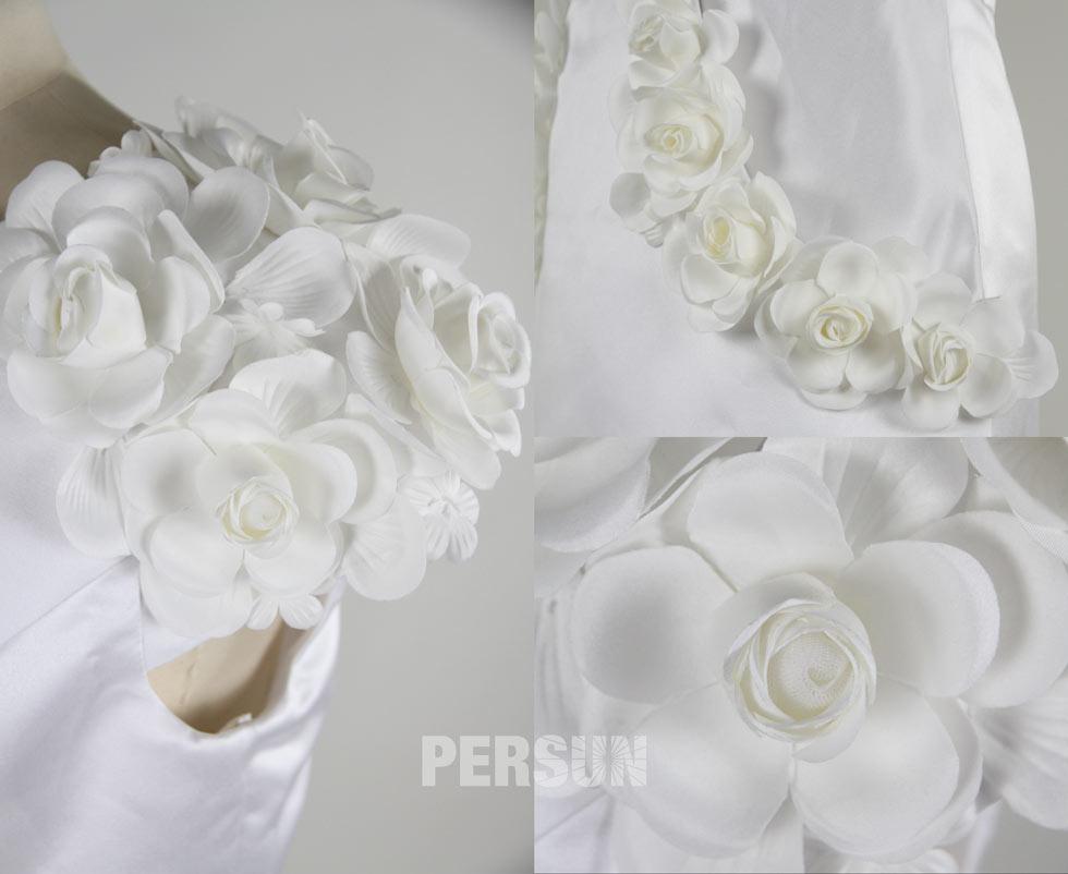 détails et finition des fleurs fait main