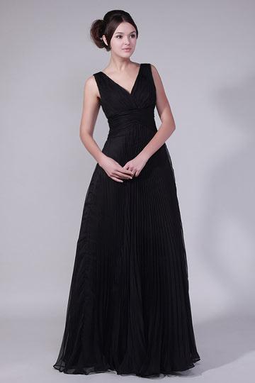 robe de soirée noire