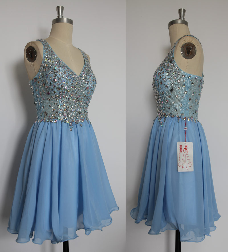 robe bleue pas cher pour un bal