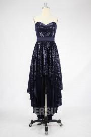 A-Linie Herz-Auschnitt Sequin Kleid für Homecoming,Ball,Cocktailparty