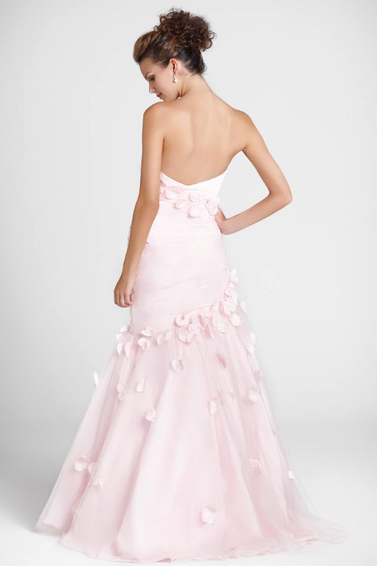 acheter robe rose pale bustier longue dos nu