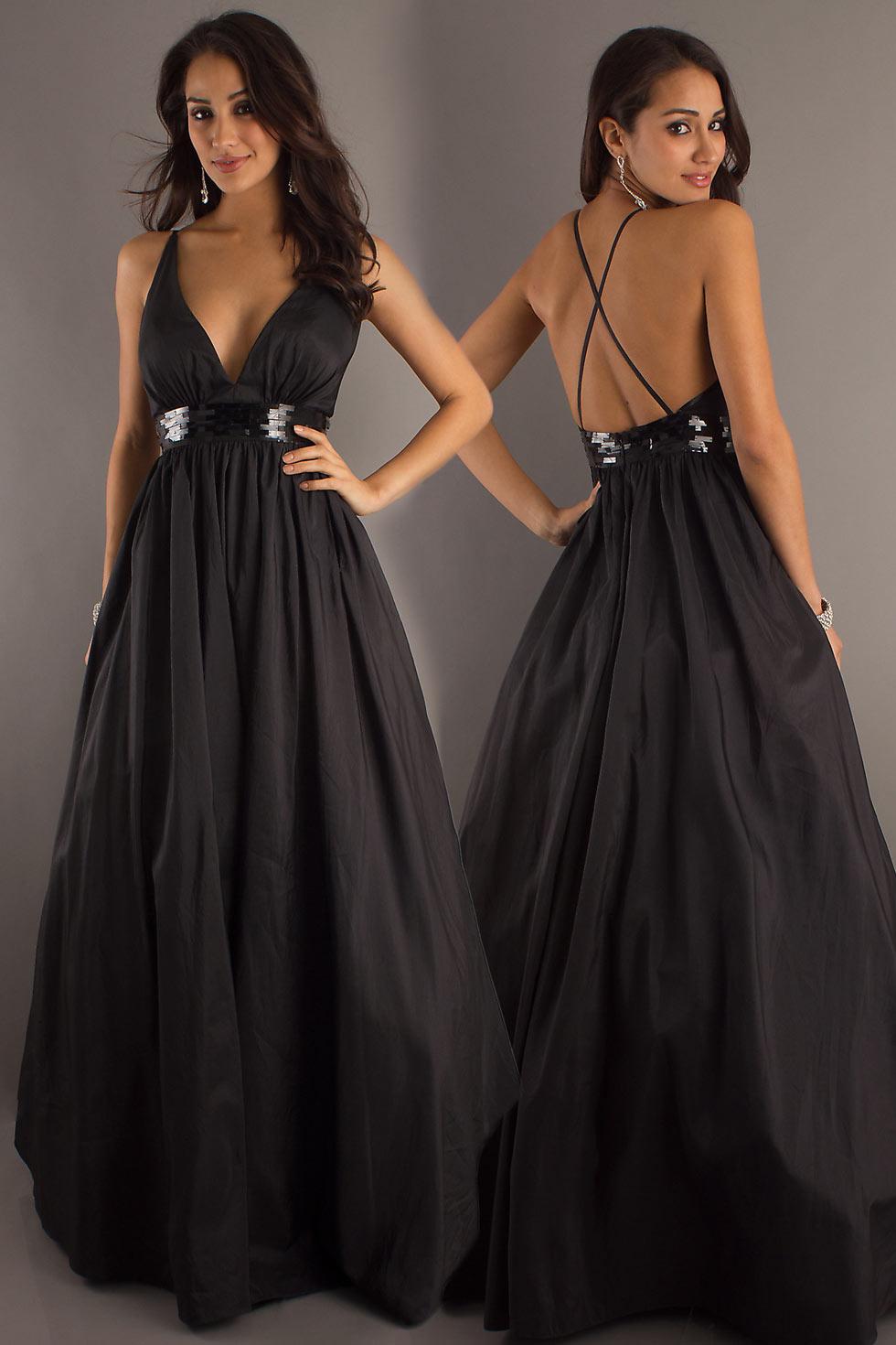 robe de soirée dos nu pour aller à un mariage