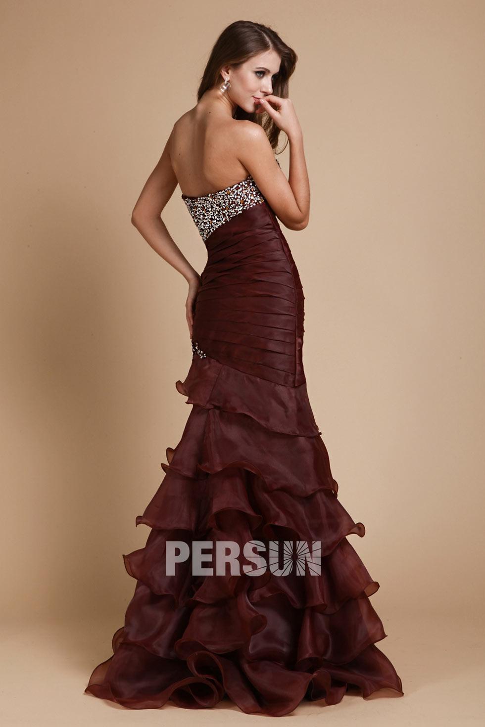 achat de robe sirène pas cher brune pour votre soirée