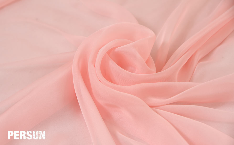 tissu tencel pour robe rose pâle