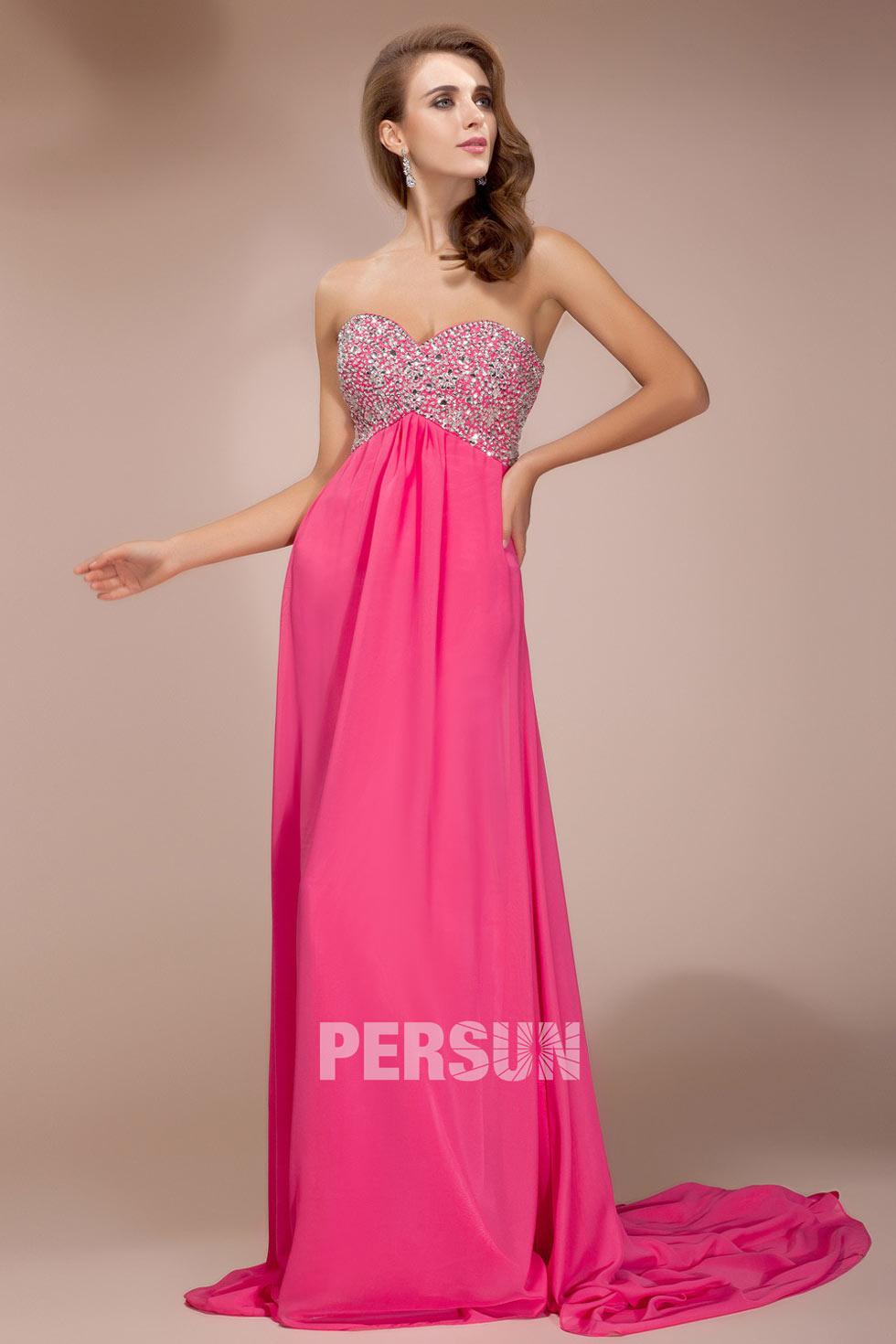robe empire longue pour soir/e mariage magnifique