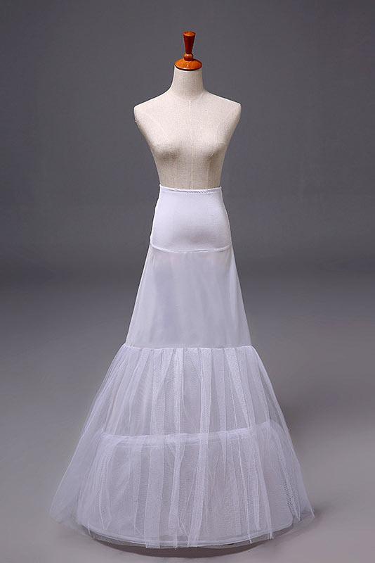 Jupon Long Pour Robes De Mariage Et Soirée Trompette En