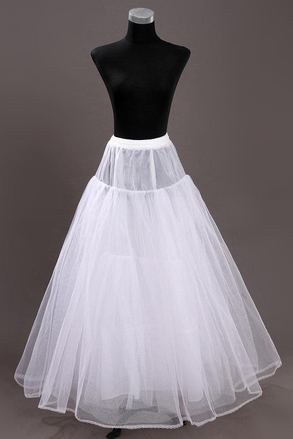 Jupon robe de mariee princesse