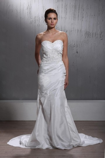 Robe de mariée moderne au ras du sol Trompette / Sirène