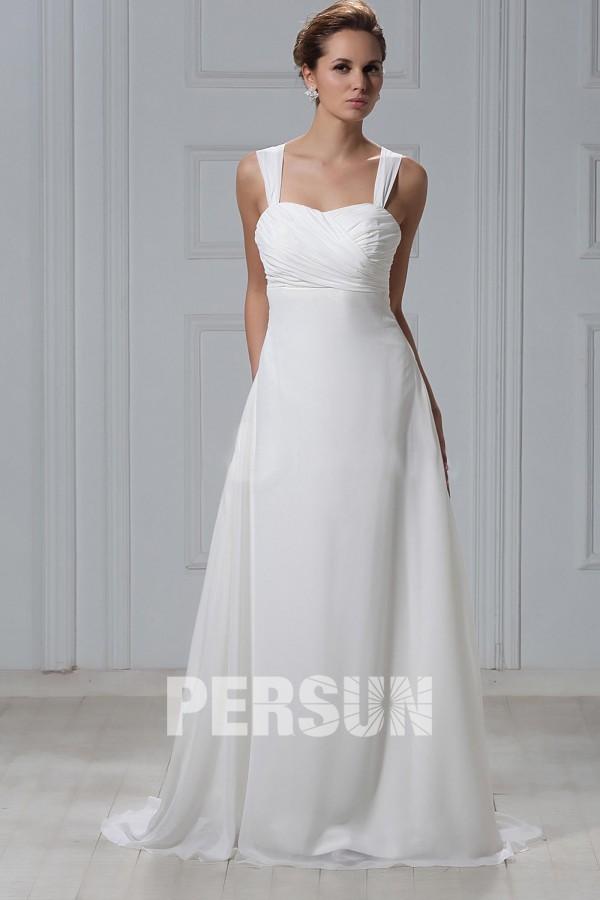 robe de mari e plage fourreau colonne avec bretelle. Black Bedroom Furniture Sets. Home Design Ideas