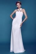 Robe de mariée plage encolure et dos en Y simple