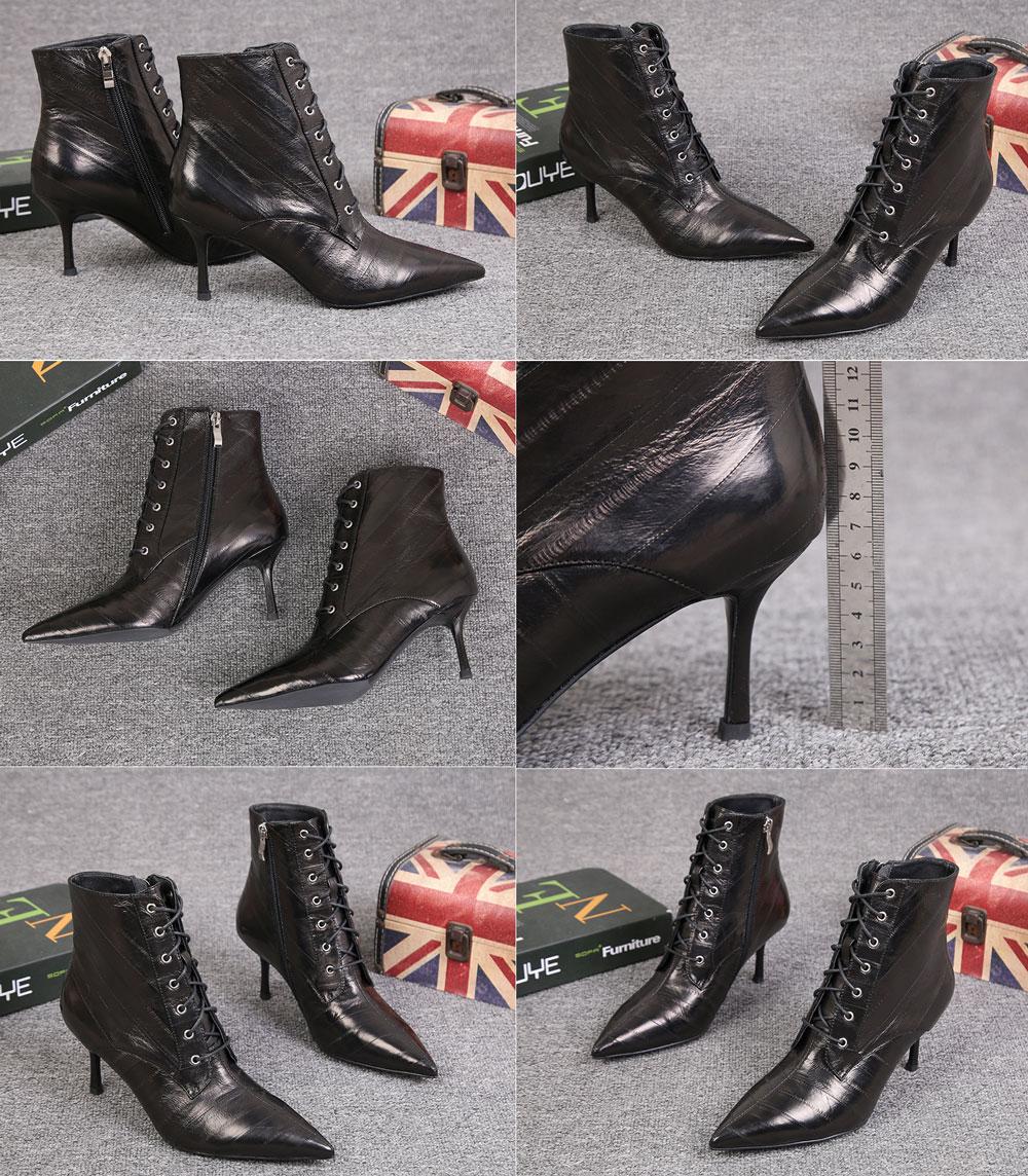 low boots femme noir en cuir pas cher