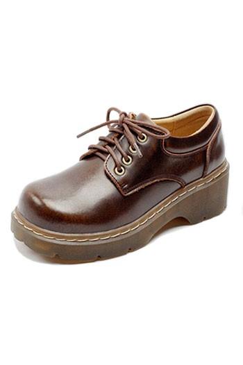 Chaussures ville femme basse effet rehaussantes