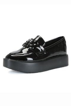 Femme chaussures à plateformes avec rhinestones