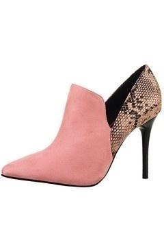 Low boots avec motif serpentin