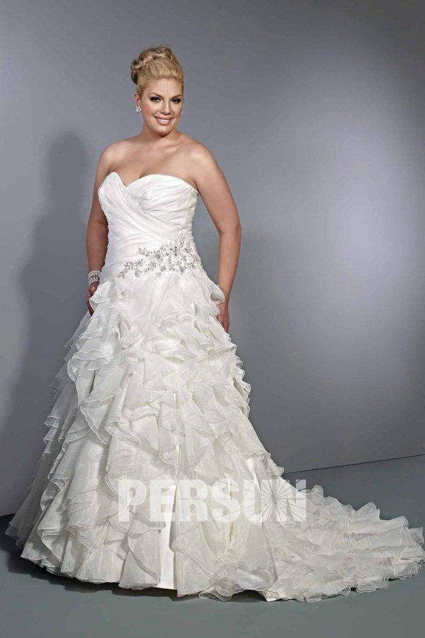 Modele De Robe De Mariée Pour Femme Ronde