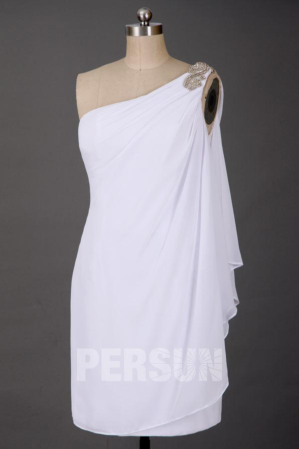 Ma Provence Robe de mariée courte asymétrique