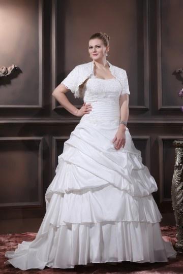 Robe de mariee pour une femme ronde