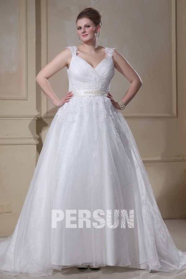 Robe mariee grande taille