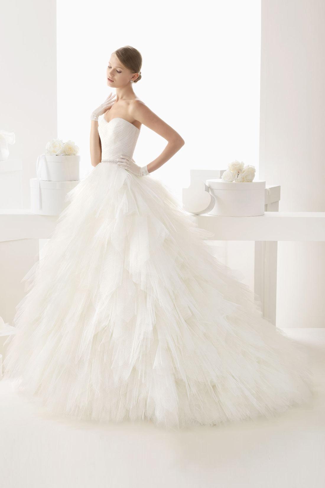 Robe de mariée princesse 2015