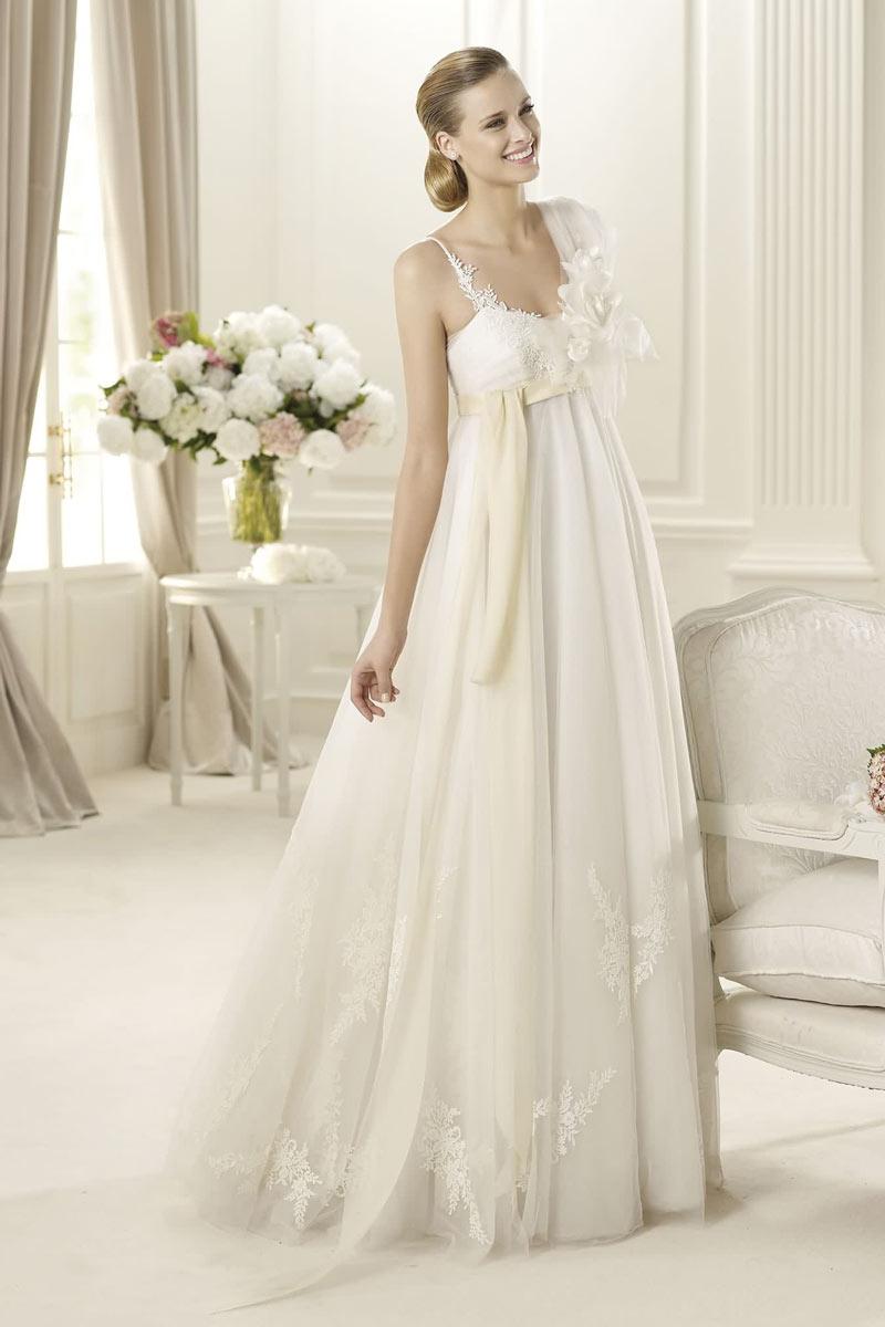 robe mariée empire tulle mariées enceintes