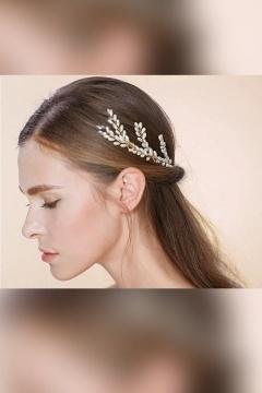 3 épingles cheveux perlée