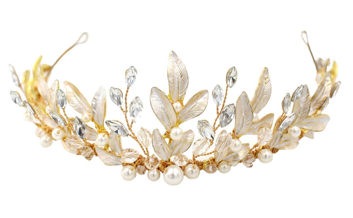 couronne élégante pour la mariée 2021