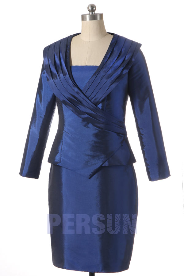 high fashion good good out x Tailleur Chic en taffetas - Persun.fr
