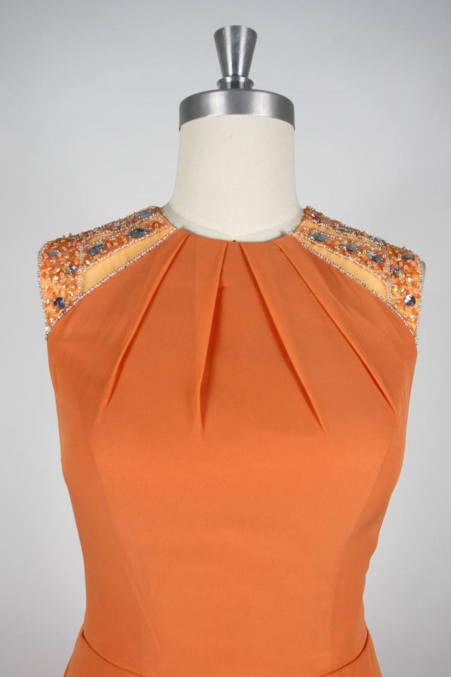 robe haut en paillettes