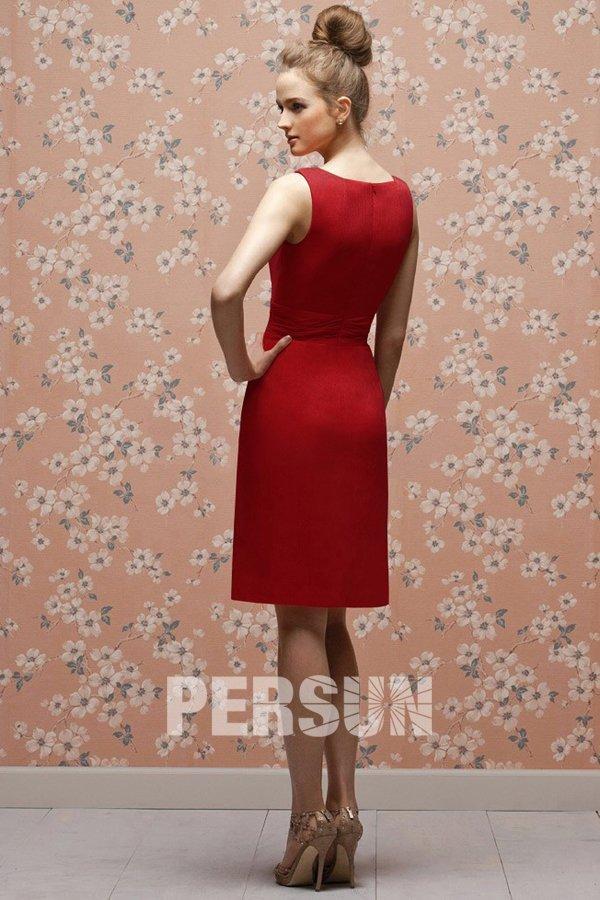 petite robe rouge mode bon prix en ligne