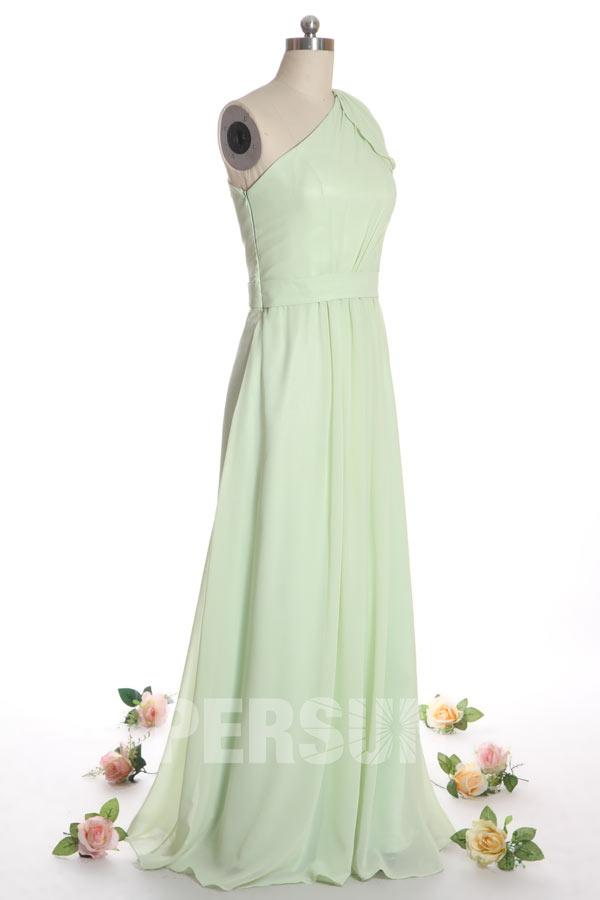 Elégante Robe longue asymétrique pour mariage en été