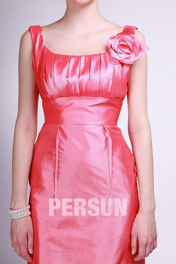robe rouge empire pour soirée